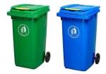 昆明塑料垃圾桶環衛桶垃圾箱