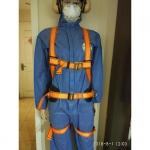 代爾塔506102全身五點式攀巖消防救援安全帶