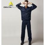 代爾塔防靜電工作服套裝405168電子芯片加工防護服