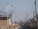 供应江西景德镇市浮梁县6米24瓦太阳能路灯案例