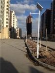 内蒙古乌海市小区照明3米12瓦LED太阳庭院灯