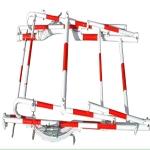 电力有限空间作业井口爬梯,井口安全爬梯厂家