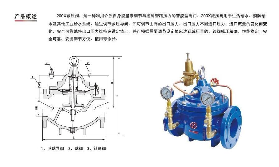 200x减压阀-中特-污水闸门厂家-万贯五金机电网图片