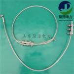 OPGW光纜接地線含配套并溝線夾和接地端子