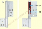 日本原裝進口MIWA抗震門軸   MIWA美和抗震門軸