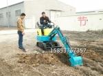 北海市小型挖掘機 迷你挖坑機 微型挖土機 小挖機