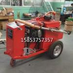 100升沥青胶灌缝机小型三轮式柏油路面填缝机