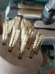 8字形钢丝刷 木柄钢丝刷 镀铜丝钢丝刷 