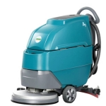 长淮小型手推式全自动洗地机 免维护洗地车 多功能地面清洗机
