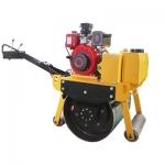 600型压路机 手扶式草场路面压实设备 仲迪600小型压路机
