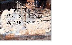液压劈裂机-劈裂力可达600吨 劈石只需几秒