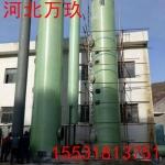 河北萬玖生產定制各種型號凈化塔凈化空氣過濾廢氣