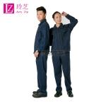 成都牛仔工作服专业生产厂家 四川工作服款式图片 现货供应