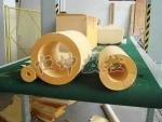 聚氨酯硬质泡沫预制管加工机器设备 泡沫保温管切割机
