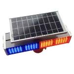 太阳能警示灯 led警示灯 道路施工安全警示灯报价