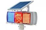 太阳能慢字爆闪灯 led慢字爆闪灯 太阳能警示灯生产直销