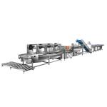 正宗厂家直供净菜生产线,大型营养餐配送中心流水线