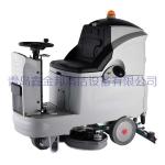 青岛电动洗地机车间商场驾驶式洗地车价格优惠