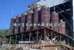 钨锡螺旋溜槽选矿设备 旋转铅锌尾矿溜槽分选机