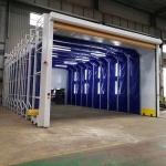 浙江移动式喷漆房/打磨房 集中处理安全性高