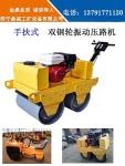 湖南岳阳小型手扶式压路机 可以爬坡手推式重型压路机