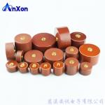 厂家直销安讯螺栓型圆柱体螺母端子超高压陶瓷电容器