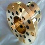 譽達軸承  JFB圓法蘭自潤滑石墨銅套軸承
