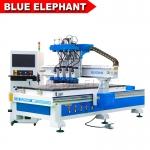 江蘇1325板式家具加工中心 藍象木工數控開料機