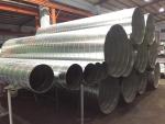 螺旋管、不銹鋼螺旋管、鍍鋅風管、角鐵法蘭