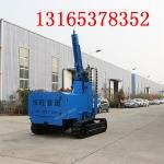 云南厂家供应6米光伏履带打桩机 压桩机