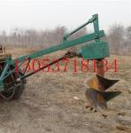 挖坑机挖坑机拖拉机挖坑机优惠了百运机械