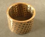 錫青銅石墨銅套,冶金設備用石墨銅套