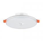 敏華智能led燈6寸磨砂罩無邊框筒燈