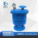 四川沪复合式排气阀(老型) CARX-10Q DN100价格