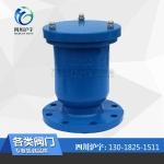 四川沪宇排气阀P41X-1.0 1.6 DN100排气阀厂家