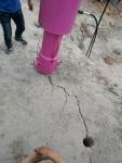 竖井开挖爆破设备手持式液压劈裂机山东德州