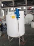 洗涤pe塑料搅拌桶 1立方聚乙烯圆型立式加药箱