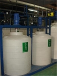 环保级减水反渗透复配罐 3吨滚塑pe加药箱搅拌桶