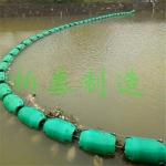 江面拦截水葫芦浮筒塑料拦截浮筒厂家