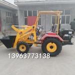 液压助力的小型装载机 农用小铲车 多功能铲车价格