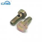 创河厂家定制汽车零件刹车油管螺丝车床加工定做非标螺丝