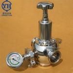 不銹鋼快裝減壓閥 衛生級高潔凈減壓閥