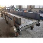 給料鏈板輸送機A鋼材破板鏈輸送機