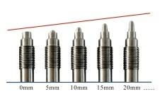化纤专用MT3012系列锥形探头熔体温度传感器
