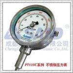 PT135B內置壓力變送器指針式高溫熔體壓力表