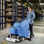容恩手推式全自动洗扫一体机R65RBT|清洗油污水泥地面洗地