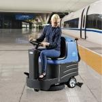 容恩驾驶式洗地机R-XBEN|山西驾驶式洗地机车间用洗地机