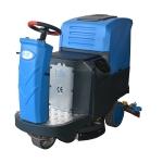 依晨电动驾驶式洗地机YZ-JS1000|停车场地下车库清洗塑
