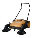 环卫清扫人行道街道树叶纸盒扫地机|依晨手推式扫地机YZ-90
