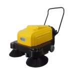 物业公司清扫地面灰尘用扫地机 依晨电动手推式扫地机YZ-10